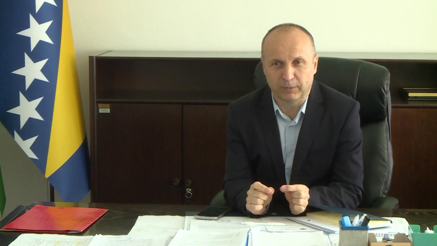 ZA DNEVNIK RTV USK O NOVOM ZAKONU O KONCESIJAMA GOVORI NIJAZ KADIRIĆ, MINISTAR PRIVREDE