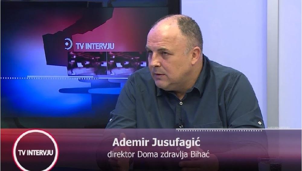 NAJAVLJUJEMO GOSTA NEDJELJNOG TV DNEVNIKA: ADEMIR JUSUFAGIĆ, DIREKTOR DOMA ZDRAVLJA BIHAĆ