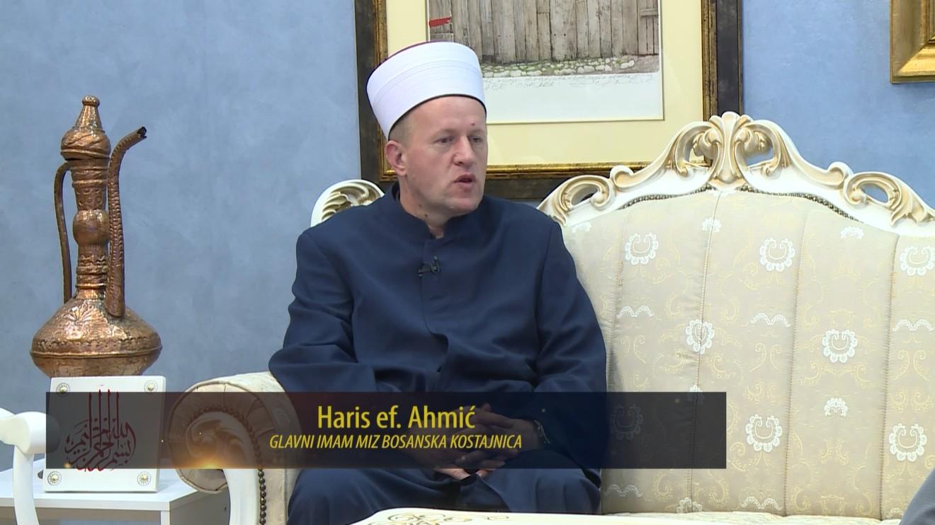 U SVJETLIMA KANDILJA: RAZGOVOR S HARISOM EF. AHMIĆEM, GLAVNIM IMAMOM MEDŽLISA ISLAMSKE ZAJEDNICE BOSANSKA KOSTAJNICA