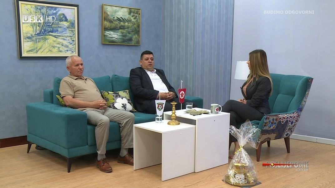 POSLIJEPODNE UZ RTVUSK - EDHAM EMINIĆ I SUVAD ŠAHINOVIĆ