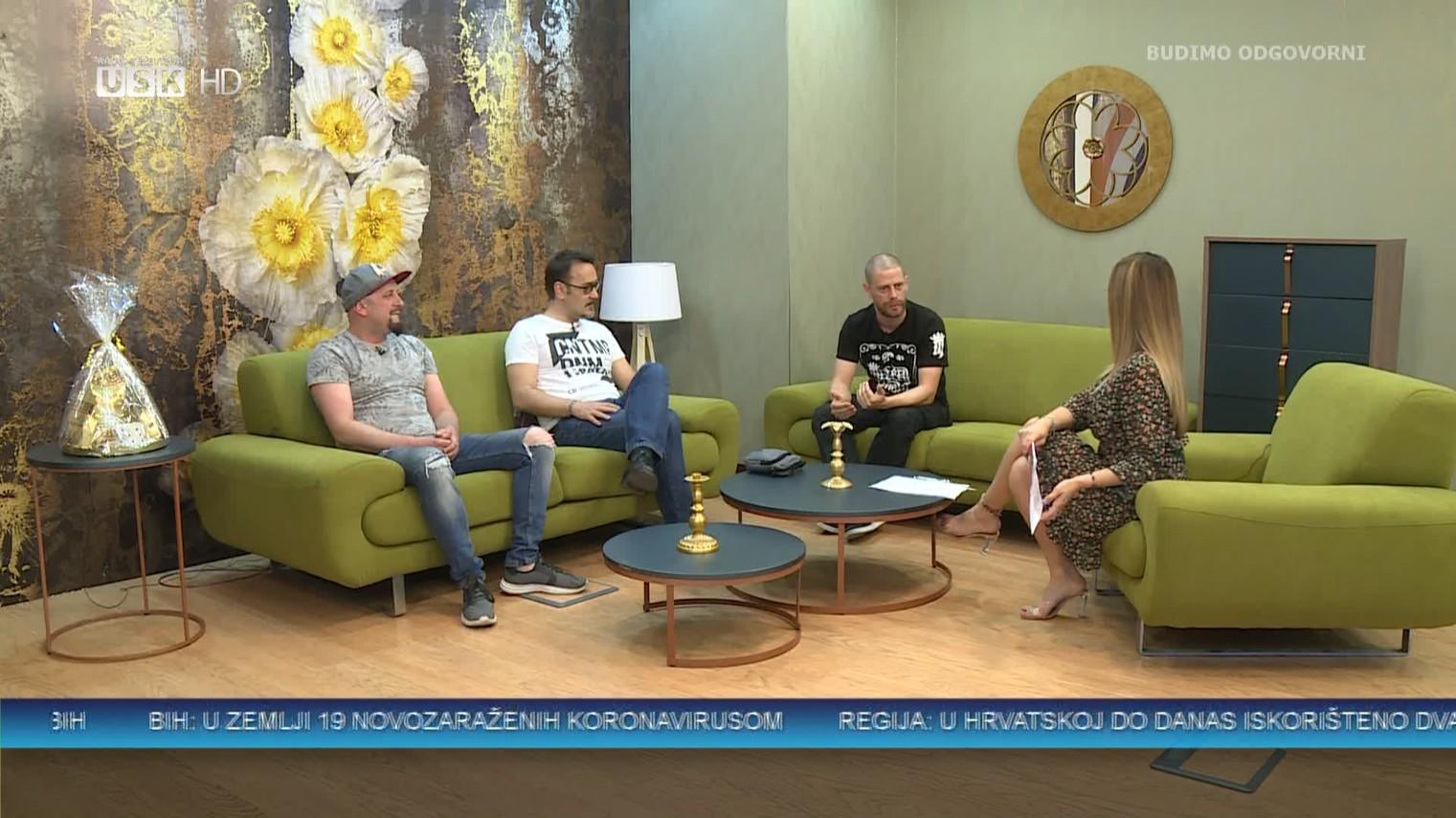 NEDJELJOM ZAJEDNO RTV USK: GOSTI ELVEDIN SEMANIĆ, SAMIR JAGANJAC I ERMIN DURATOVIĆ