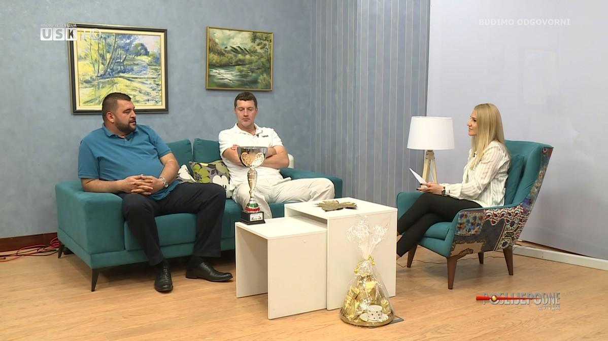 POSLIJEPODNE UZ RTV USK - GOSTI:  AVDO MAHIĆ I HASAN BRKIĆ