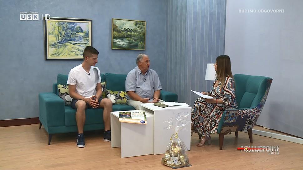 POSLIJEPODNE UZ RTV USK: GOSTI EDHAM DURAKOVIĆ I EMIR FILIPOVIĆ