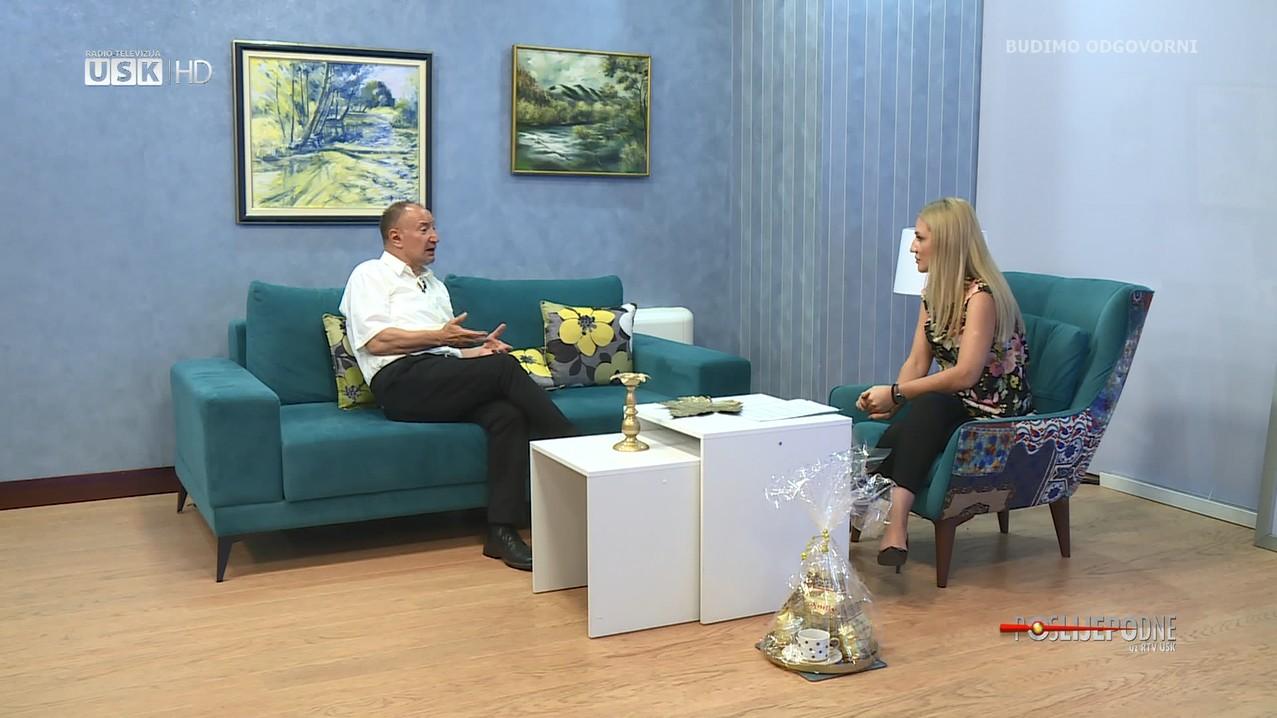 POSLIJEPODNE UZ TV USK – GOST: AHMET IBUKIĆ, AKADEMSKI SLIKAR