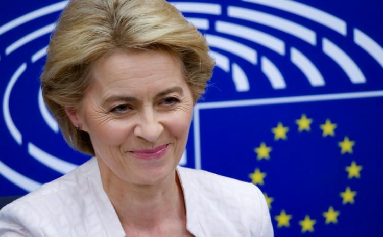 PREDSJEDNICA EUROPSKE KOMISIJE URSULA VON DER LEYEN U ČETVRTAK ĆE POSJETITI BIH