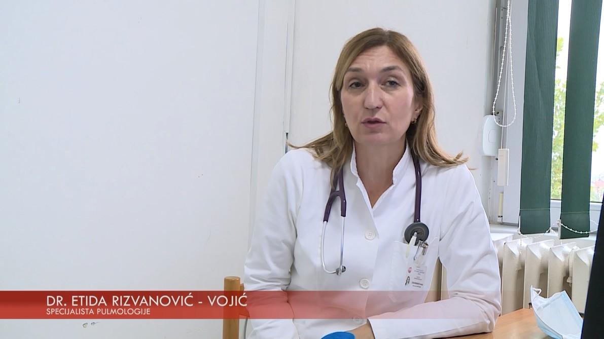 TV ORDINACIJA -  DR. ETIDA RIZVANOVIĆ – VOJIĆ, SPECIJALISTA PULMOLOGIJE