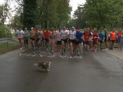 Start trke ispred Lovačkog doma u Borićima