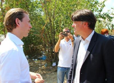 Kurz i Čavkov: EU mora pomoći