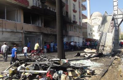 Eksplozija pričinila veliku materijalnu štetu