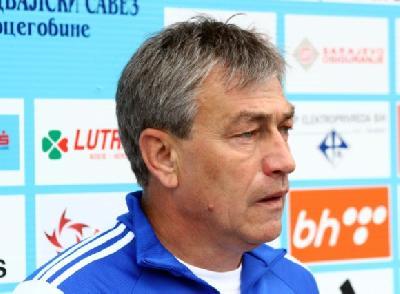 Dragan Perić, pomoćnik selektora Mehmeda Baždarevića