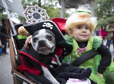 Parada pasa na Manhattanu održana u okviru priprema za Noć vještica