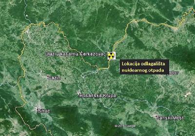 Lokacija potencijalnog odlagališta nuklearnog otpada na Trgovskoj gori
