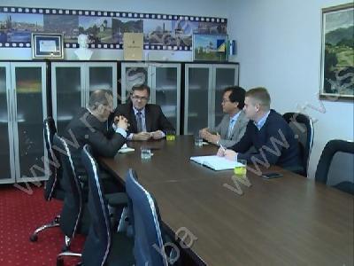 Goste primili premijer USK i gradonačelnik Bihaća