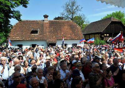 U Kumrovcu oko 7.000 posjetitelja iz Hrvatske i ostalih bivših jugoslavenskih republika