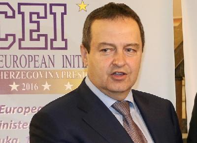 Ministar vanjskih poslova Srbije Ivica Dačić