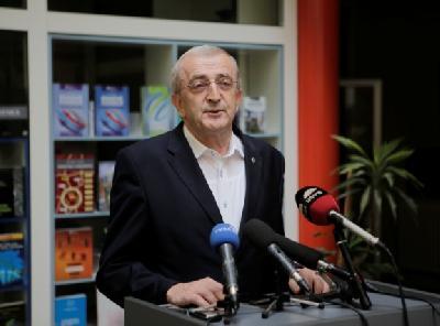 Franjo Topić na današnjoj sesiji Kruga 99