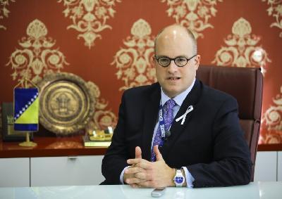 Ambasador Jonathan Moore, šef Misije OSCE-a u BiH