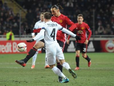 Detalj sa utakmice Zorya Luhansk - Manchester United (0:2)