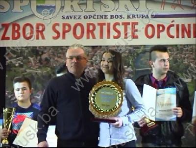 Sportistkinja općine za 2016. godinu Iman Begić