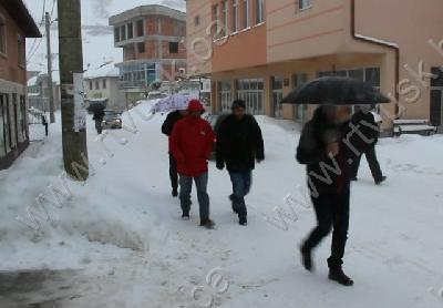 Bužim: Obilne sniježne padavine