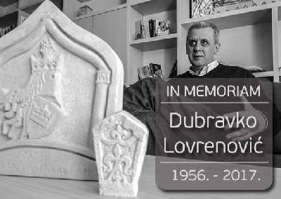 Prof. dr. Dubravko Lovrenović preminuo jutros u Sarajevu
