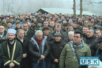 Brojni učesnici obilježavanje godišnjice u Spahićima