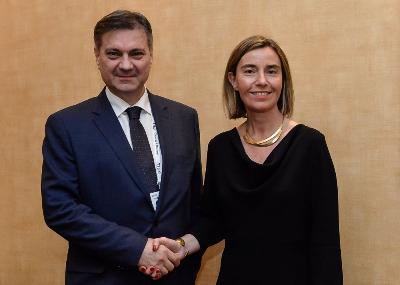 Zvizdić i Mogherini razgovarali u Briselu
