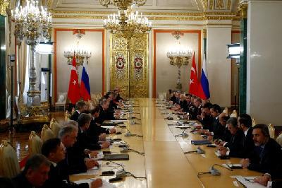 Sastanak Vijeća za tursko-rusku saradnju u Moskvi