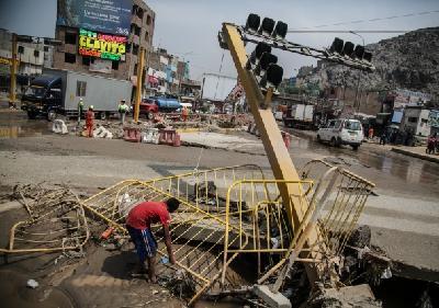 Šteta na oko 115.000 kuća, uništeno je 117 mostova i veliki broj puteva