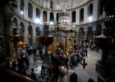 Ceremoniji prisustvovali brojni kršćanski vjerodostojnici i gosti