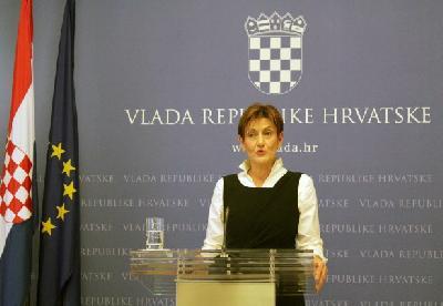 Potpredsjednica Vlade i ministrica gospodarstva, poduzetništva i obrta Martina Dalić