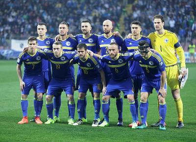 Reprezentacija koja je u Zenici savladala Gibraltar sa 5:0