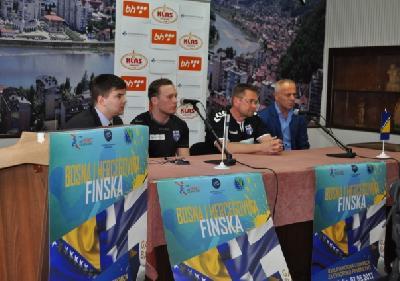 Utakmica BiH - Finska igra se sutra s početkom u 20 sati