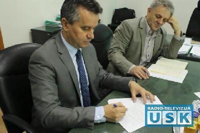 Potpisivanje protokola s predstavnicima UNDP-a