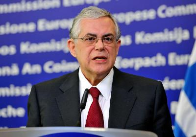 Bivši grčki premijer Lucas Papademos