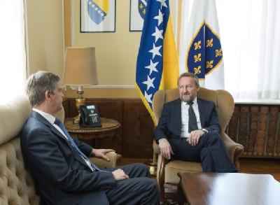Teme razgovora bile reforme na putu BiH prema članstvu u EU