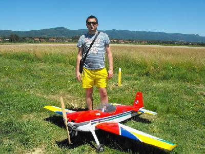 Vujasinović od malih nogu ljubitelj aviona i helikoptera