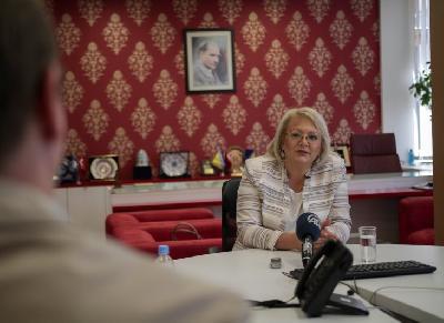 Lidija Bradara, predsjedavajuća Doma naroda Parlamenta Federacije BiH