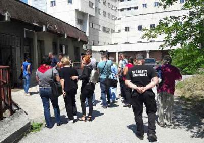 Pacijentice protestirale ispred Klinike (Foto:Arhiv/Patria)