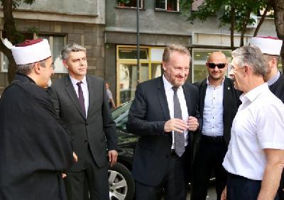 Izetbegović u Beogradu