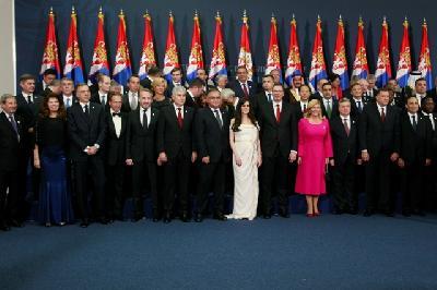 Zajednička fotografija sa zvanicama