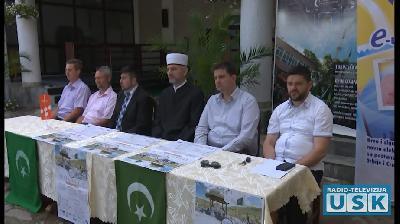 """SANSKI  MOST: OTVORENA KULTURNO - VJERSKA  MANIFESTACIJA """"MUSALLA 2017"""""""