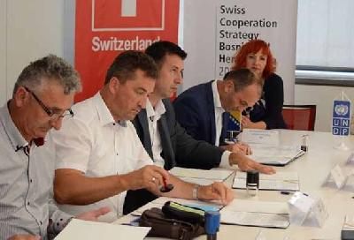 Potpisivanje grantova u Sarajevu