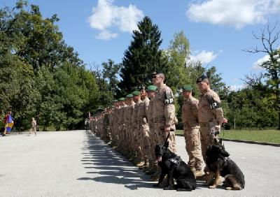 Kontigent sudjeluje u obuci afganistanskih vojnika, dočasnika i časnika
