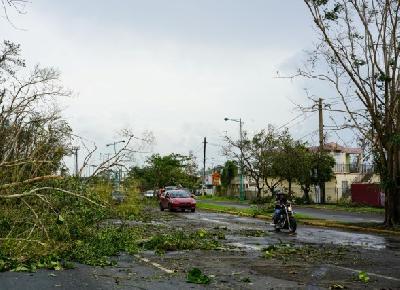 Uragan Maria razorio Portoriko