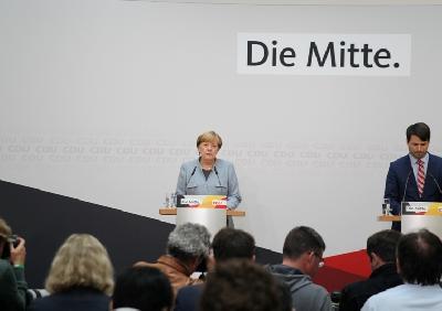 MERKEL: O KOALICIJI ĆEMO RAZGOVARATI S FDP-OM, ZELENIM, ALI I SA SPD-OM