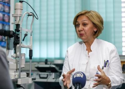Dr. Jasmina Alajbegović-Halimić, oftamolog