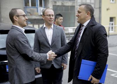 Ministar Dedić posjetio sarajevski regionalni ured Anadolu Agency