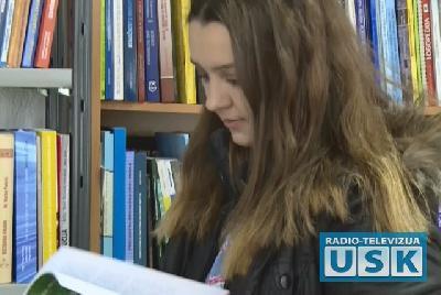 Sara Dedić, studentica Pedagoškog fakulteta
