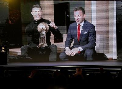 Ronaldu i Globe Soccer Award